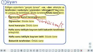 Eğitim Vadisi TYT Türkçe 20.Föy Fiilde Çatı Konu Anlatım Videoları