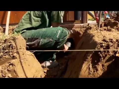Einbau des Regenwasser Flachtank 'Platin' - Schritt für Schritt