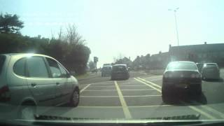 preview picture of video 'Bad Driving UK - Elderly and impatient driver hazard'