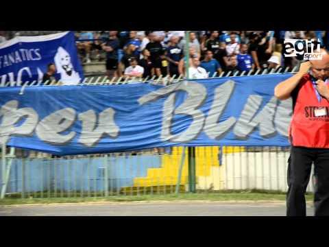 Fani Stomilu ożywili stadion w Olsztynie