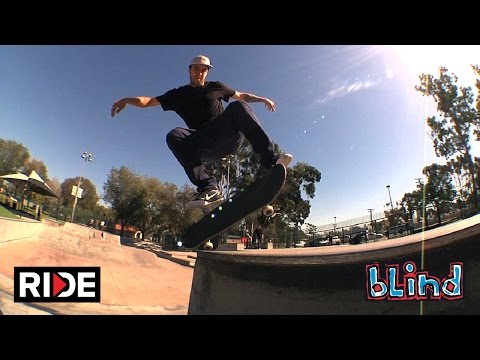 TJ Rogers - Volcom Skatepark in Costa Mesa  - Blind #DamnEdits