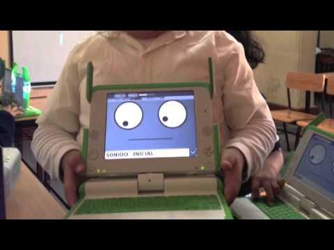 I.E. SAN MARTIN DE PORRES: Uso de Laptop XO
