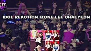 idol reaction to izone chaeyeon dance - Thủ thuật máy tính