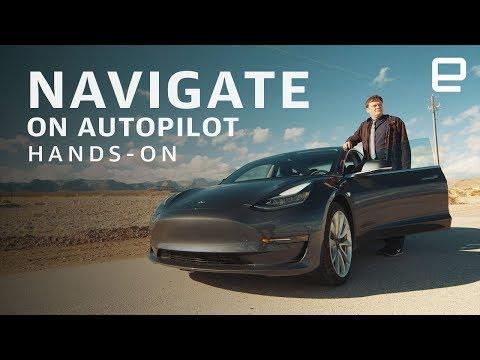 Tesla Navigate on Autopilot je ideální na dlouhé výlety