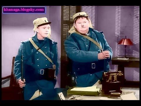 لورل و هاردی-پرواز دو دیوانه- رنگی با کیفیت - برای اولین بار  -The flying deuces (1939)- colored