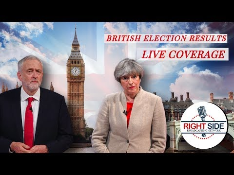 LIVE COVERAGE: British Election Results - 6/8/17