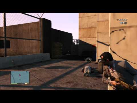 GTA 5 - How To Sneak Into The Military Base Tutorial Mp3