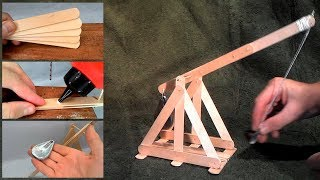 How To Build A Trebuchet Catapult With Popsicle Sticks