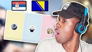 AMERICAN REACTS TO BALKAN MUSIC  Jala Brat X Buba Corelli X Senidah   KAMIKAZA