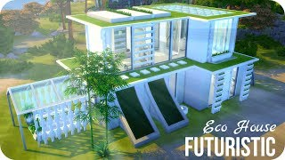 Sims 4 House Building | Futuristic Eco House