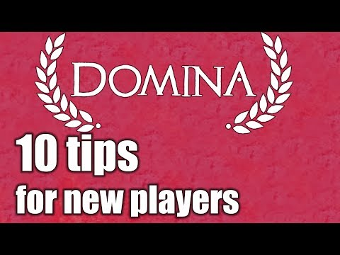 Domina - 10 tips for new players