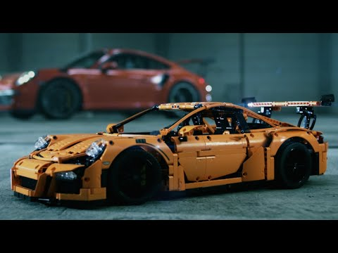 Конструктор Porsche 911 GT3 RS - LEGO 10 Series - фото № 9