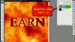 Tutorial de texto Lava Photoshop en español