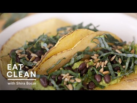 Gluten-Free Avocado and Black Bean Tacos – Eat Clean with Shira Bocar