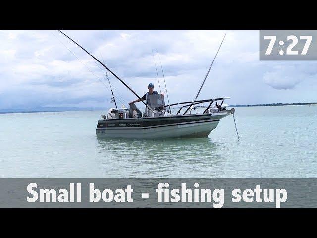 SMALL BOAT - FISHING SETUP