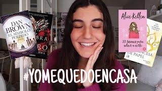 LIBROS PARA LEER DURANTE LA CUARENTENA!!  | YOMEQUEDOENCASA