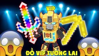 NOOB TEAM THỬ THÁCH CHẾ TẠO ĐỒ VIP CÔNG NGHỆ ❓❓ ĐẠI CHIẾN ĐỒ VIP TƯƠNG LAI TRONG MINI WORLD