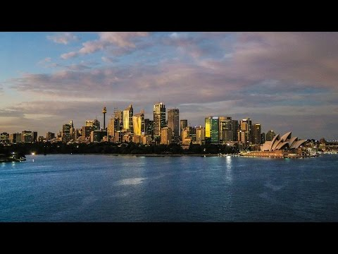 Sydney, Australia Cruise Ship Time-Lapse