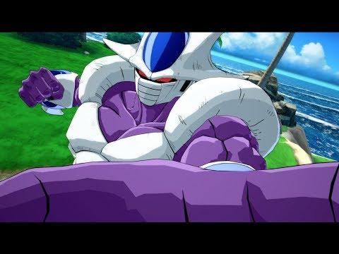 Gameplay pour Goku/Vegata version classique et Cooler de Dragon Ball FighterZ