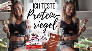 ich teste ÜBER 30 PROTEINRIEGEL (Supermarkt, Vegan, Questbars,..) // annrahel