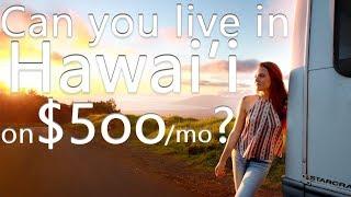 Van Life Hawaii   Life On A Minimalist Budget