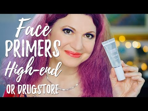 Face primers | high-end and drugstore