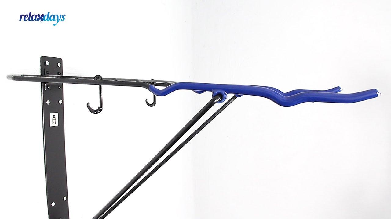 Video von: Fahrrad Wandhalterung bis 50 kg