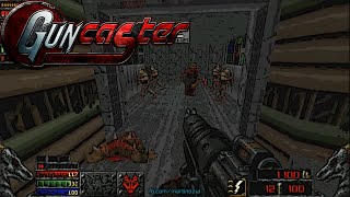 Guncaster  Maps Of Chaos with Doom II Hell On Earth, Levels 1-6 [720p 60fps]