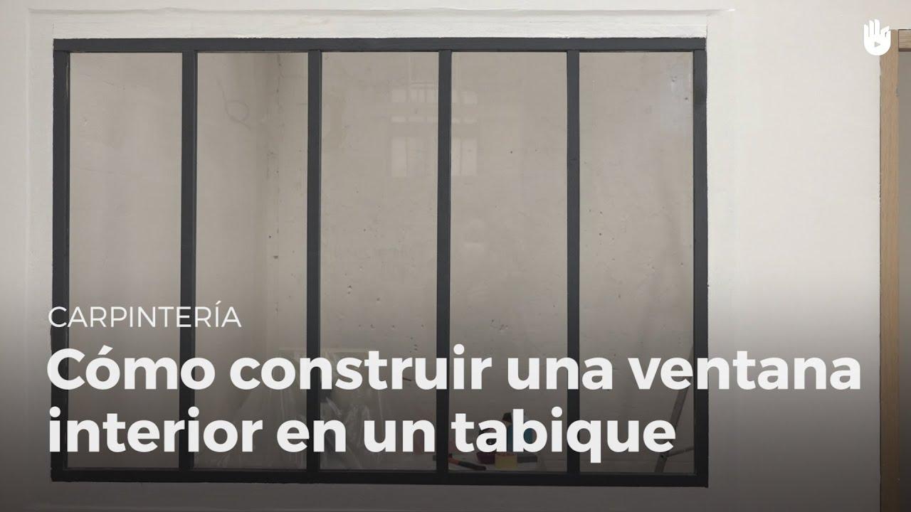 Construye una ventana interior en un tabique - DIY - Básicos de ...