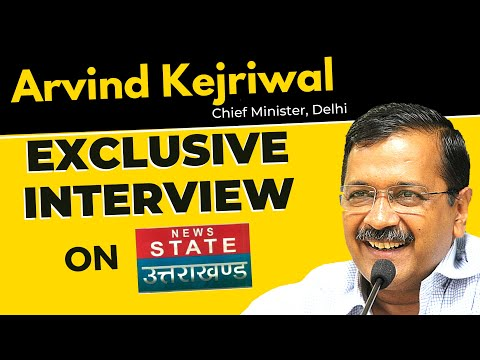 🔴 LIVE | Arvind Kejriwal Super Exclusive on News State Uttrakhand | Latest Interview