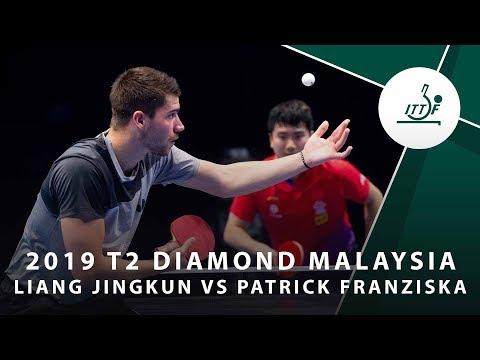 Liang Jingkun vs Patrick Franaziska | 2019 T2 Diamond Malaysia (R16)