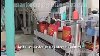 Hi-tech weighing and bagging machine(HI-speed 1200 bags/hour)