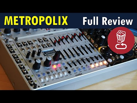 Metropolix: Intellijel brings the X factor to Metropolis