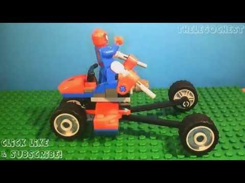 Vidéo LEGO Marvel Super Heroes 76014 : Spider-Trike contre Electro