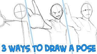 3 Ways To Draw A Pose
