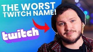 How To Pick A Good Username For Twitch - Generators And Ideas!