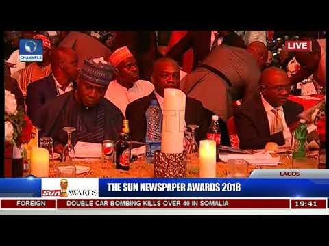 The Sun Newspaper Awards 2018 Pt.2 |Live Event|