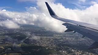 jetBlue A321 approach into Santiago (STI) Airport, Dominican Republic