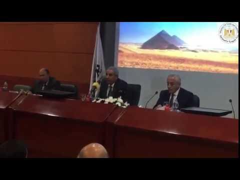 الوزير/طارق قابيل يسلم خطابات تخصيص 175 قطعة أرض بمدينة قويسنا لـ 80 مستثمر