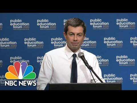 Mayor Pete Buttigieg Questioned For Fundraising With Charter School Advocate | NBC News