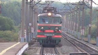 Электровозы ВЛ80С-1431 и ВЛ80С-2622 с грузовым поездом