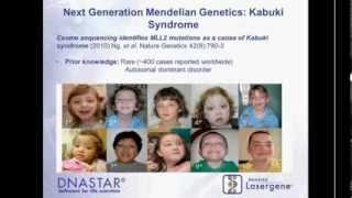 DNASTAR - Identifying Causal Genes of Rare Mendelian Disease using Lasergene