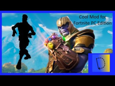 Thanos fortnite default dance