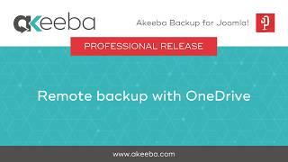 Akeeba Backup for Joomla!