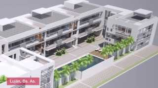 preview picture of video 'Arquitectura: Hotel+Spa en Luján'