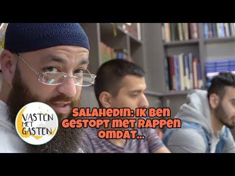 Ex rapper Salah Edin bij Vasten Met Gasten van Ismail Ilgun