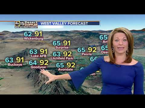 Warm week ahead for the Valley