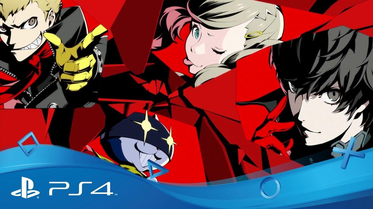 Reservas de Persona 5 para PS3 y PS4 ya disponibles: tema gratuito para PS4 disponible durante las próximas 24 horas