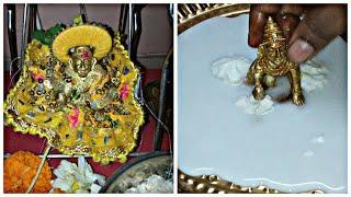 Janmashtami special Puja Vidhi | Janmashtami Bhog | लड्डू गोपाल की पूजा करने की विधि  - Download this Video in MP3, M4A, WEBM, MP4, 3GP