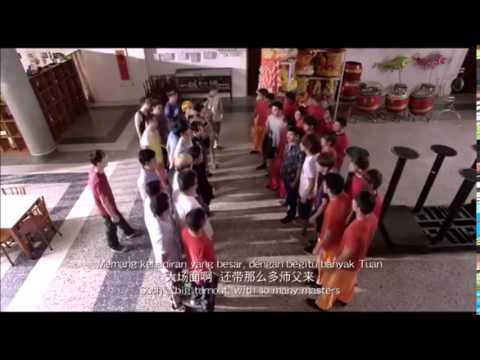 The lion men (funny and fighting scene)